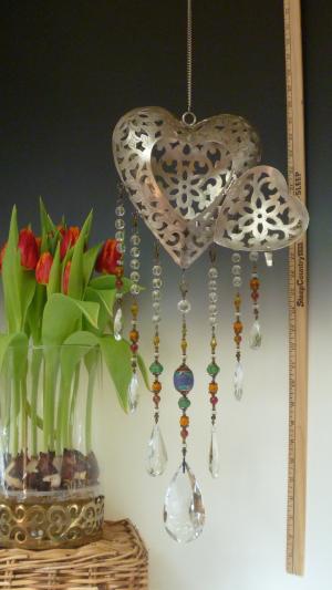 Beautiful Heart Lantern- Tribal Theme